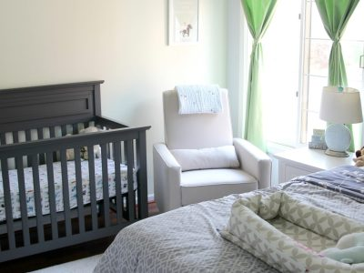 A Simple Nursery & Guest Room