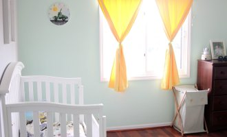A Shared (Boys') Bedroom: Twin & Toddler Beds