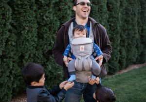 Four Tips for Babywearing Dads: From a Dad of Three