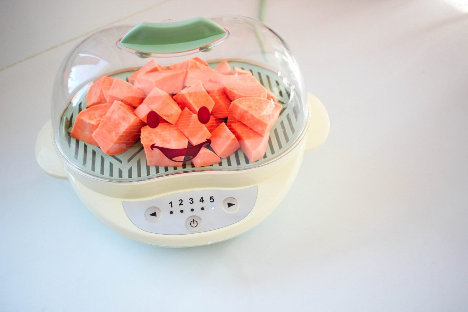 Easy simple stage two puree recipes simply every i love how fast the baby bullet steamer cooks the veggies and thaws frozen baby food i even use it to cook my adult portion of sweet potatoes forumfinder Gallery