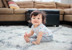 Baby B 7-8 Months Update + Carter's Little Planet Apparel