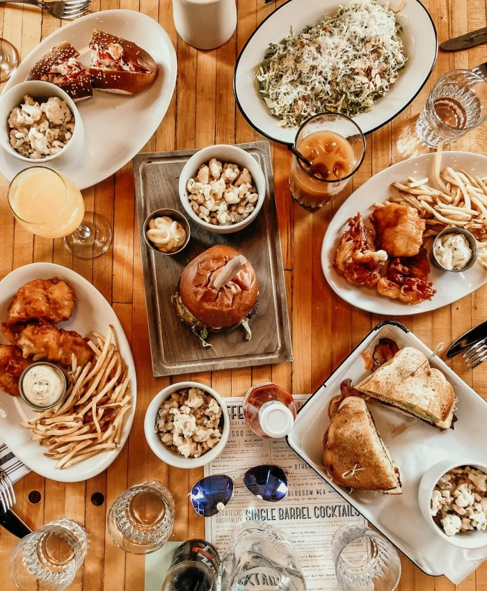 food flatlay, Mom's Guide to Nashville