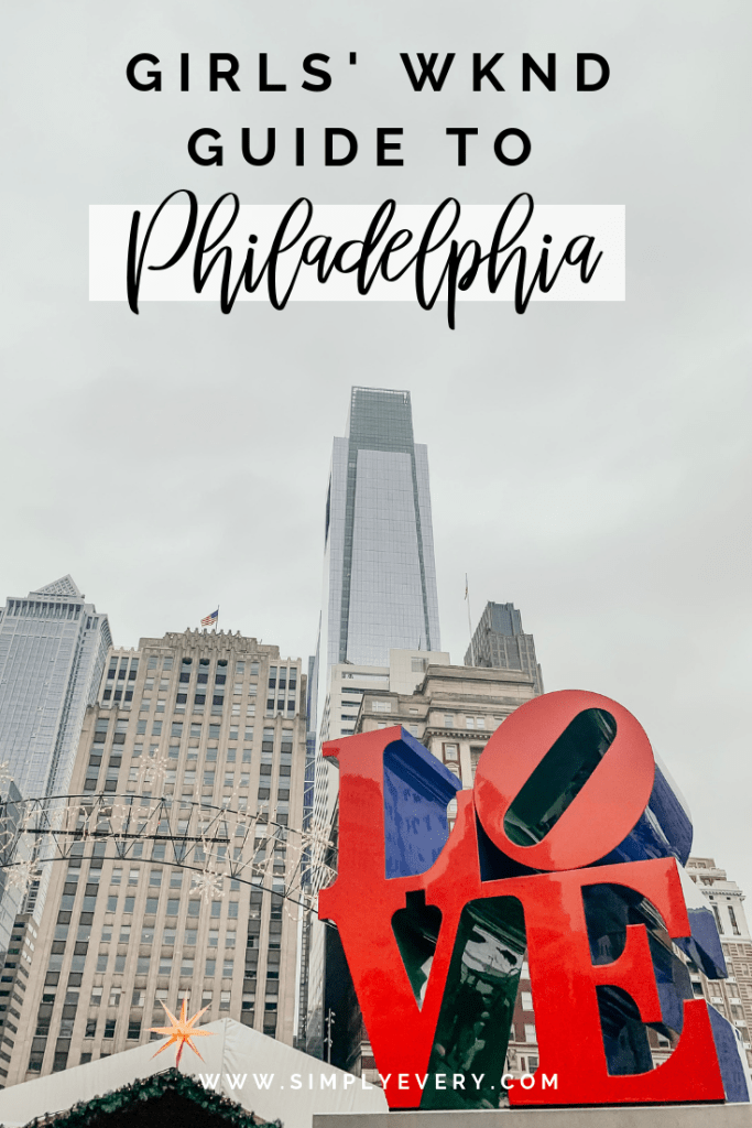 A Thirty Something Mom's Guide to Philadelphia, PA