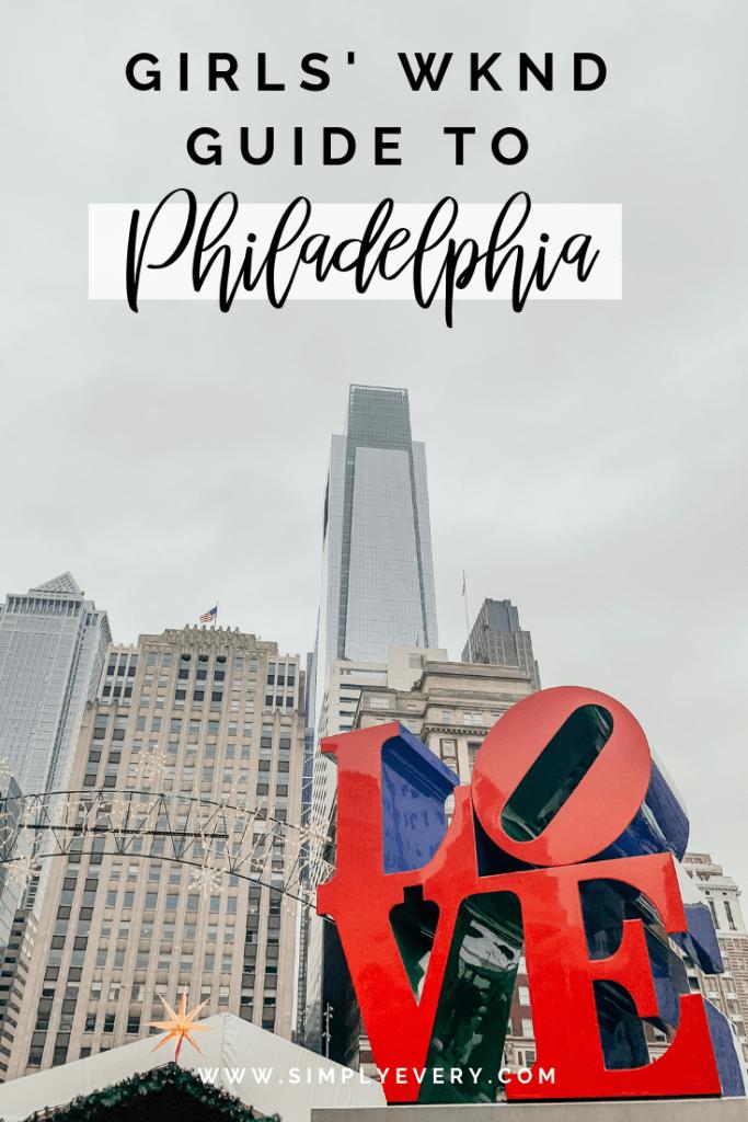 A Thirty Something Mom's Guide to Philadelphia, PA