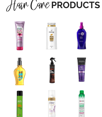 Best Drugstore Hair Care Products