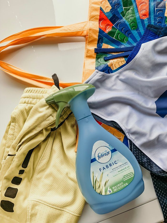 Mom Hack for Keeping Sports Clothing Fresh