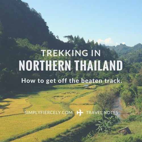 Trekking in Northern Thailand (How to Get Off the Beaten Track and Avoid the Tourist Villages)