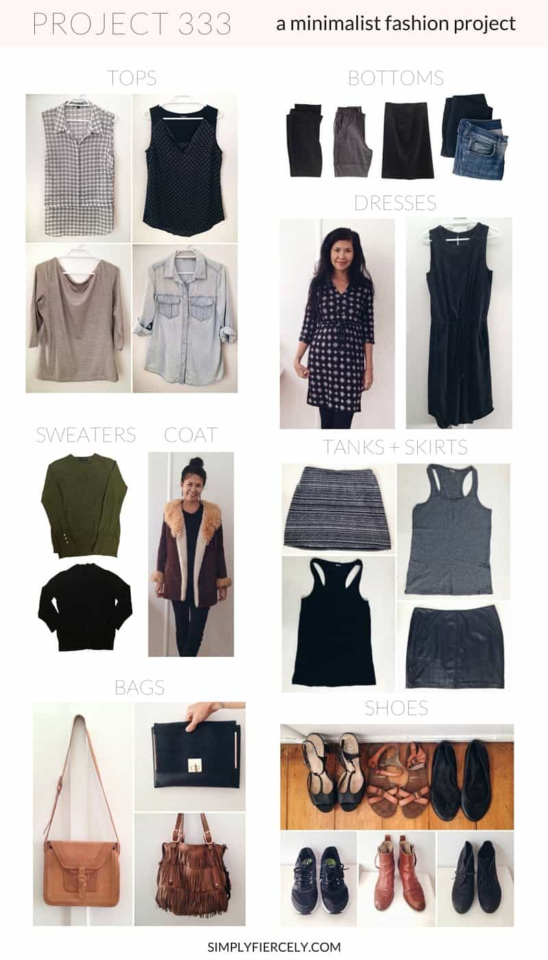 c70cbb90b0b4 Introducing Project 333  A Minimalist Fashion Experiment - Simply + Fiercely
