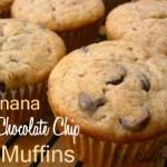 My Favourite Banana Chocolate Chip Muffins