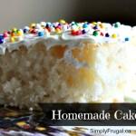March Mixes – Homemade Cake Mix