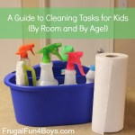 A Guide to Cleaning Tasks for Kids