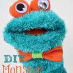 DIY Monster Sock Puppet