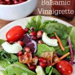 Pomegranate Balsamic Vinaigrette