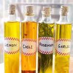 A Homemade Christmas Gift: Infused Olive Oils