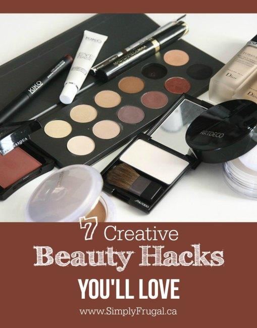 7 Creative Beauty Hacks you'll Love