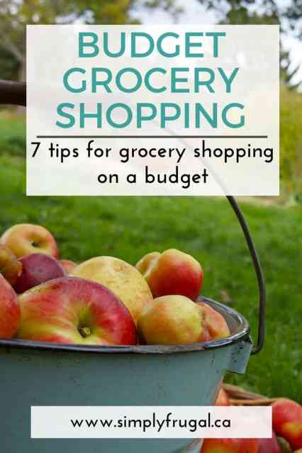 7 Tips For Grocery Shopping On A Budget. Grocery saving tips