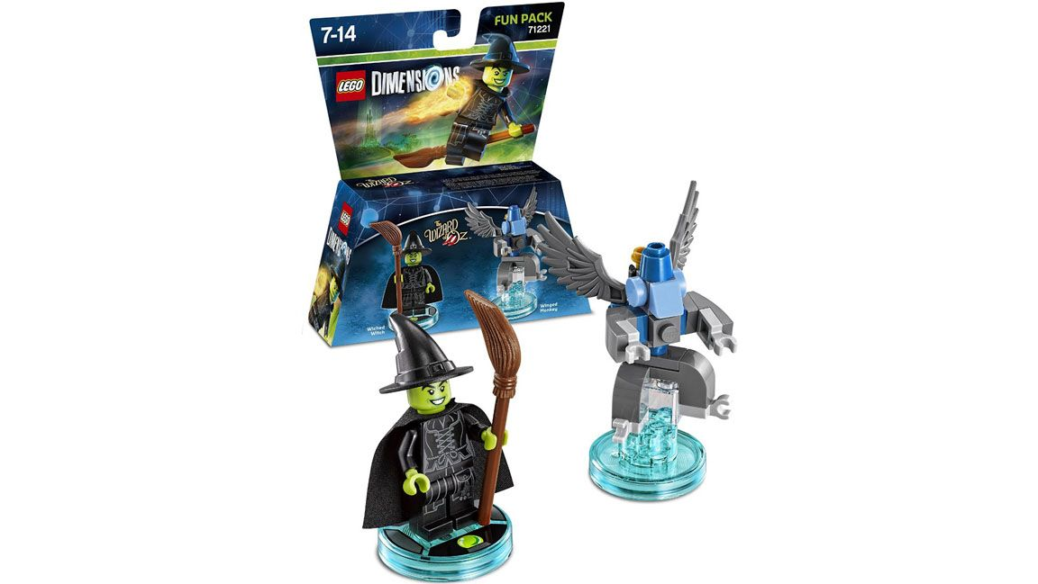 Lego Dimensions The Wizard Of Oz Fun Pack The Wicked