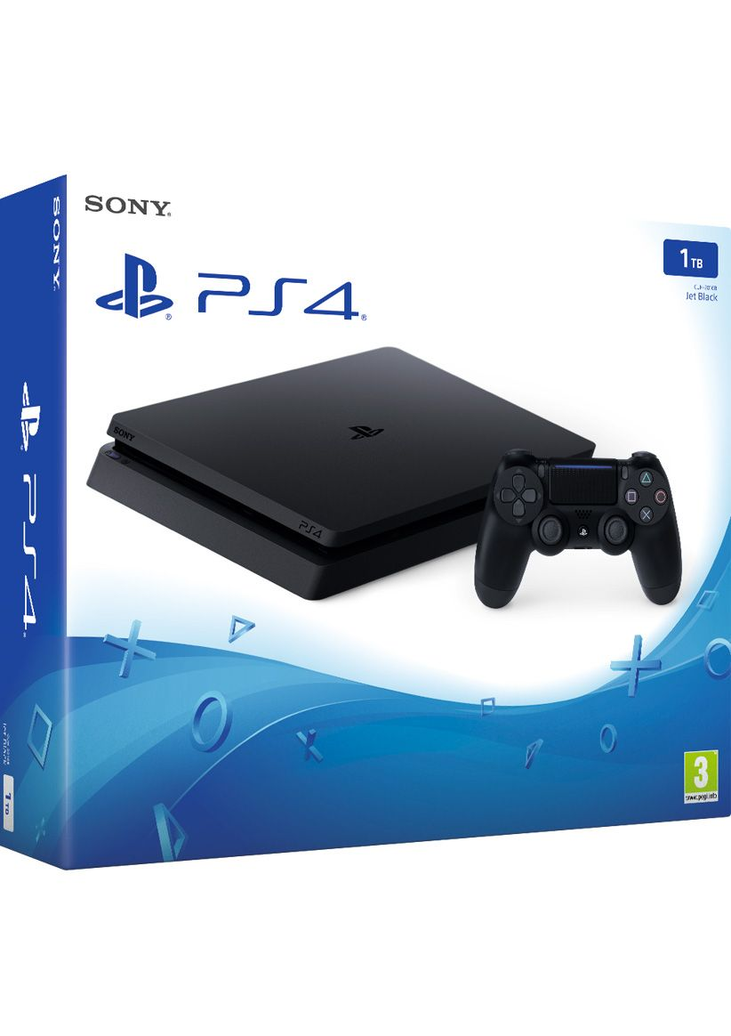 PS4 Slim 1TB Console On PS4 SimplyGames