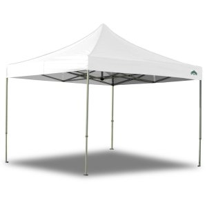 Caravan Canopy 10 X 10 Foot Straight Leg Display Shade Commercial Canopy, White