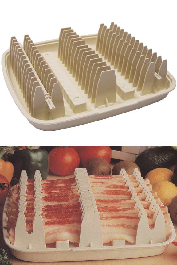 microwave bacon cooking rack