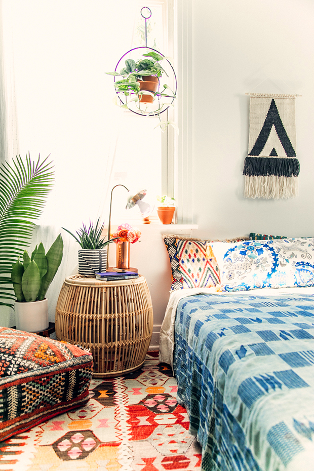 How to Get the Bohemian Aesthetic in Your Bedroom - Simply ... on Boho Bedroom Decor  id=60801