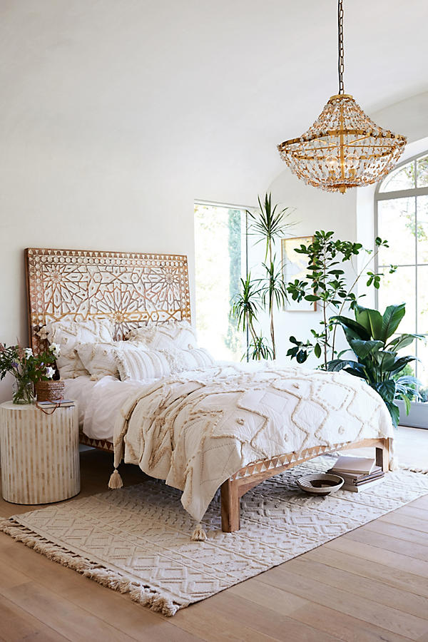 How to Get the Bohemian Aesthetic in Your Bedroom - Simply ... on Boho Bedroom  id=92365