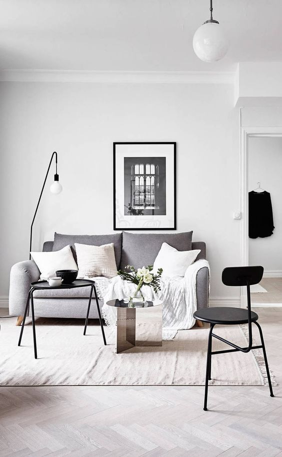 How to Get the Scandinavian Aesthetic in Your Living Room ... on Room Decor Aesthetic id=96734