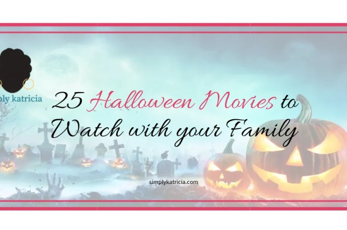 25 Halloween Movies to Watch with your Family