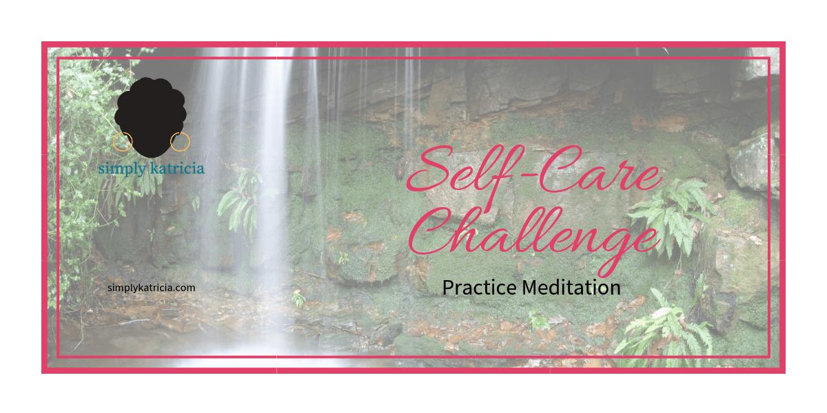 self care practice meditation