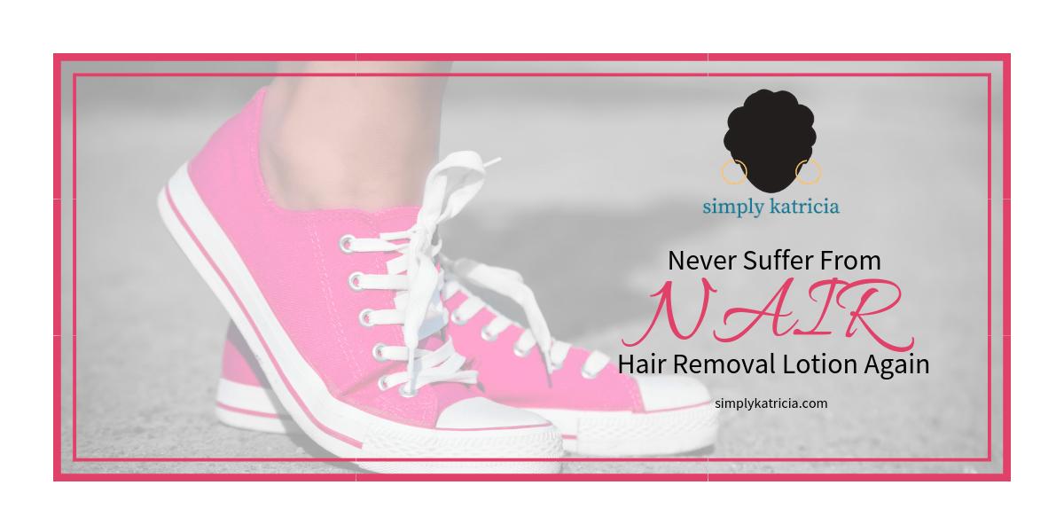nair hair removal lotion