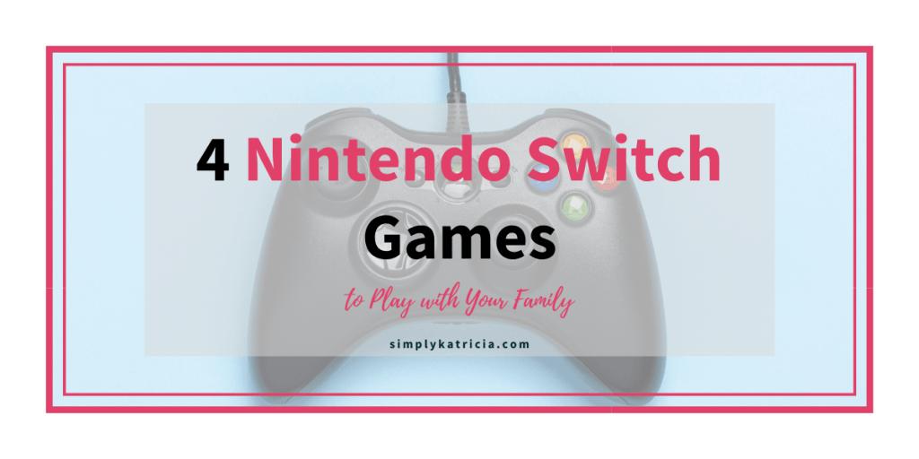 nintendo switch video games