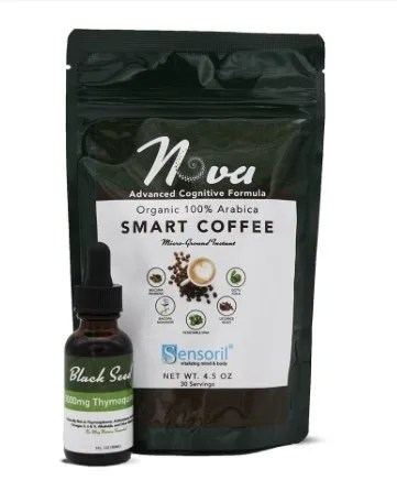 Coffee and Black Seed Oil
