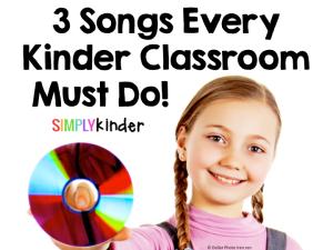 Simply Kinder, Classroom music, brain breaks