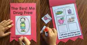 Celebrate Red Ribbon Week in Kindergarten with this fun interactive story. Activities talk about promoting healthy choices in life and are very appropriate for early childhood kiddos!