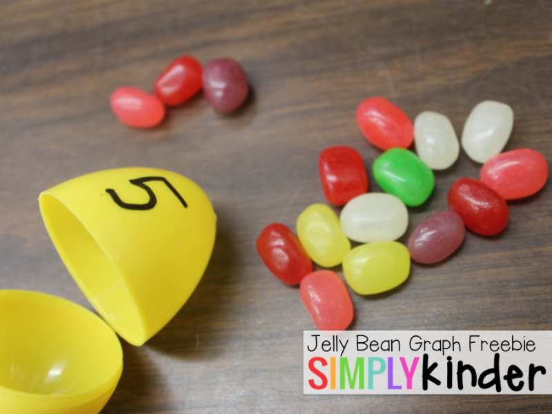 Free Jelly Bean Math Printables from Simply Kinder!