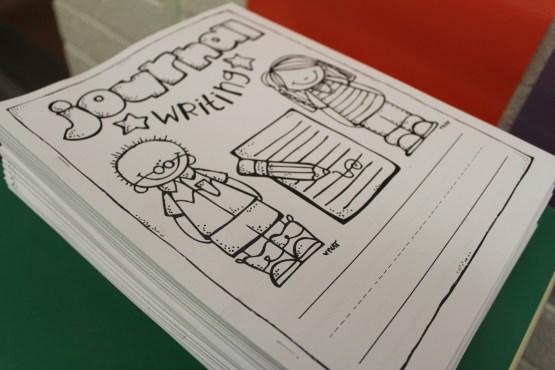 Free Writing Journals for Kindergarten.