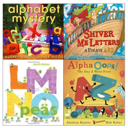 Great books for teaching the alphabet!
