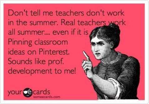 Pinning should be considered professional development for teachers!  =)