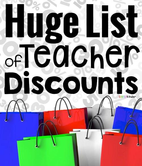 Teacher Discounts