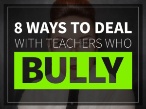 Ways to deal with teacher bullies from Education to the Core!