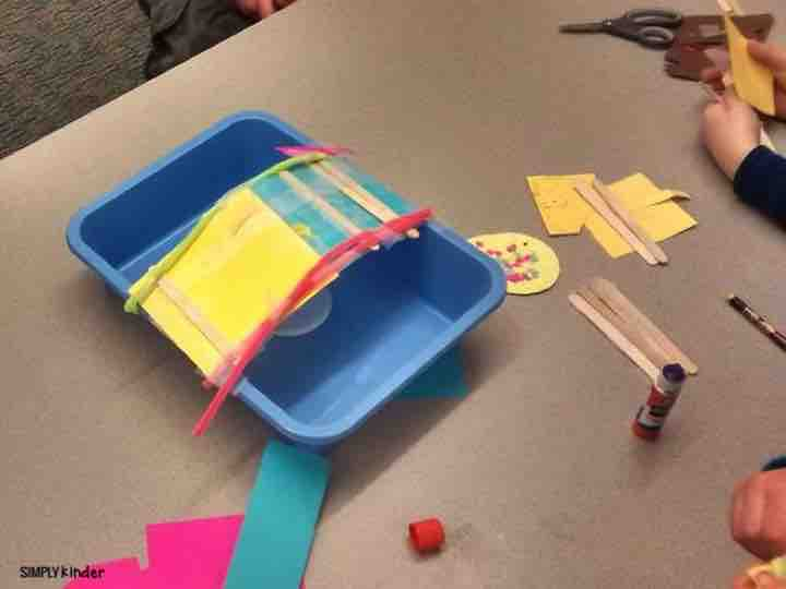 Have your students help the gingerbread man across the river before the fox gets him. A great STEM activity to incorporate for all grades (even kinder!)