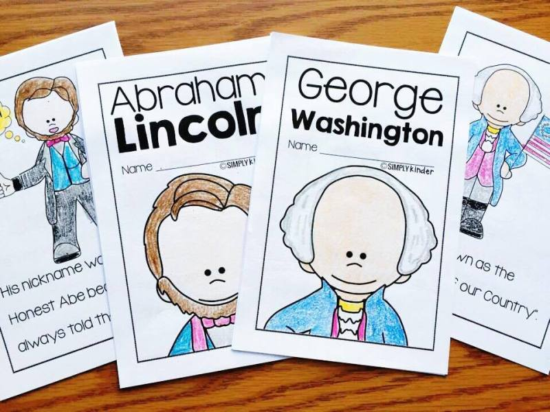 Easy to read books for Presidents Day from Simply Kinder.