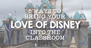 Disney Classroom Ideas