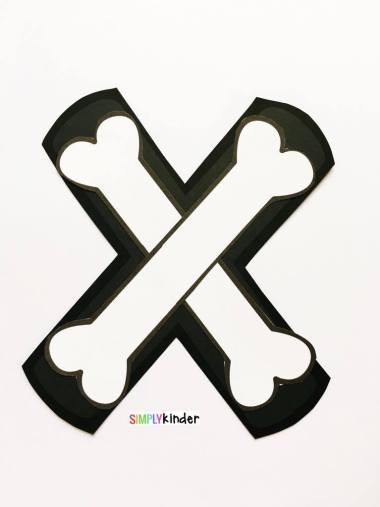 Alphabet Notebooks with Lower Case Alphabet Crafts and Printables - Letter X Alphabet Craft