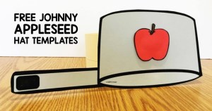 Johnny Appleseed Interactive Book for Kindergarten and First Grade
