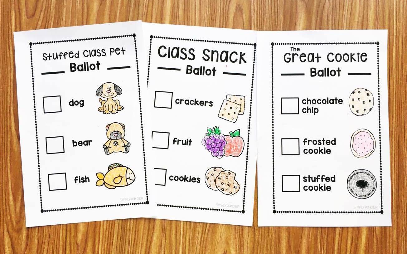 Election Books For Kindergarten