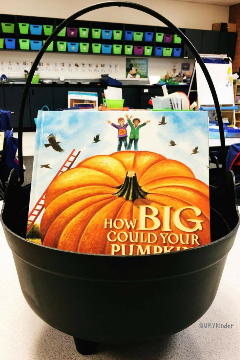 How Big Can Your Pumpkin Grow - a great book for talking to your kindergarteners about adjectives.
