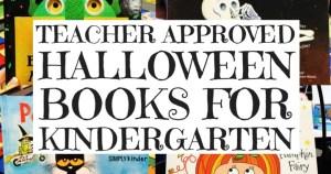 Teacher Approved Halloween Books for Kindergarten
