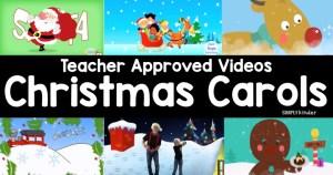 Teacher Approved Christmas Carols Video List