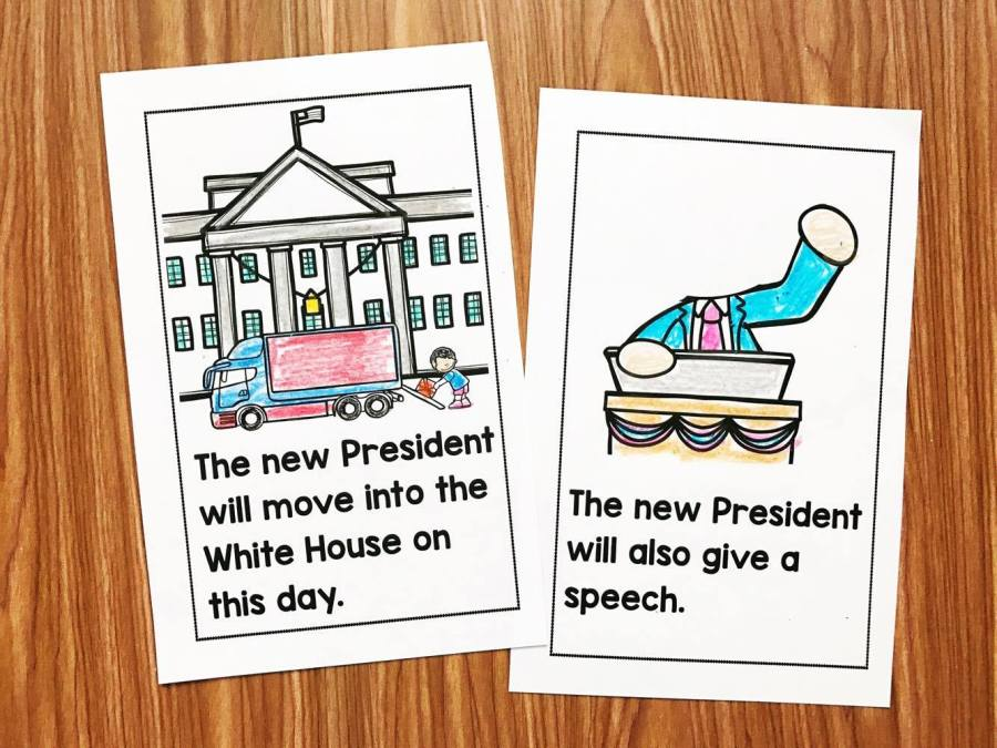 An Inauguration Day Easy to read book for kindergarten and first grade.